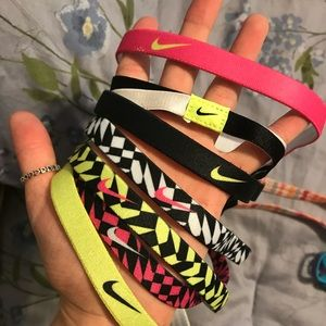 Nike and Under armor headbands